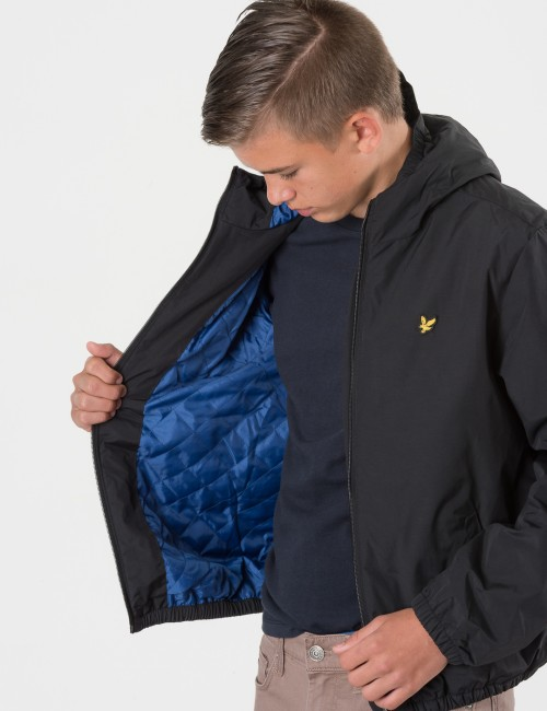 Om Lyle & Scott barnkläder - ZIP THROUGH HOODED JACKET