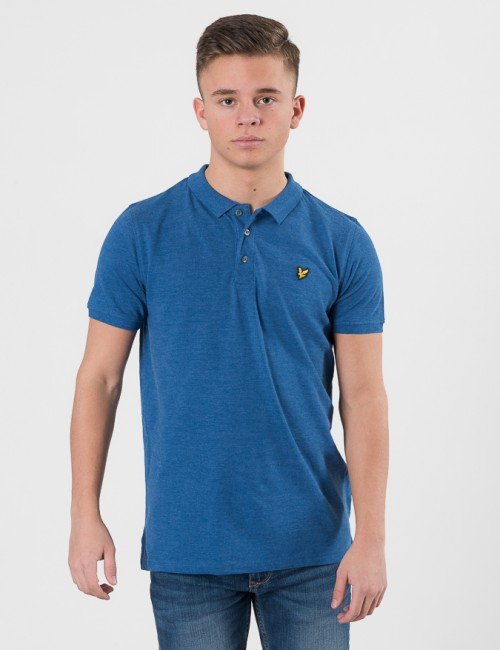 Lyle & Scott Classic Polo Shirt Blå Pike/Rugbytröjor till Kille