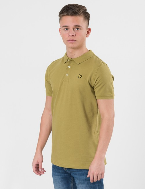 Lyle & Scott Classic Polo Shirt Grön Pike/Rugbytröjor till Kille