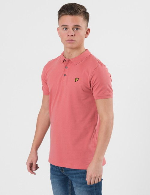 Lyle & Scott Classic Polo Shirt Rosa Pike/Rugbytröjor till Kille