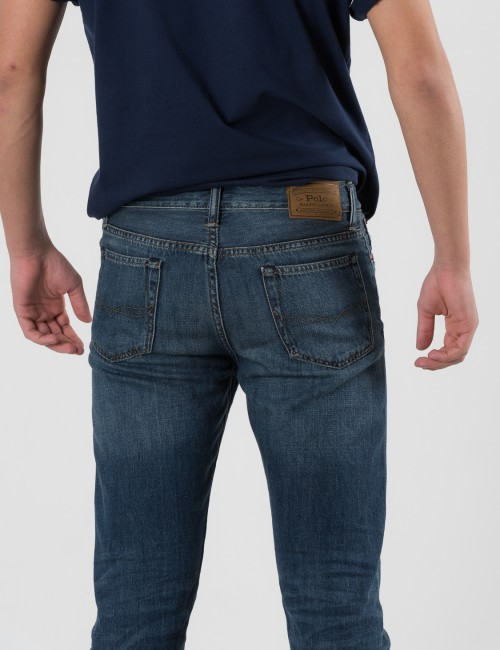 Ralph Lauren SULLIVAN DENIM BOTTOMS Blå Jeans till Kille