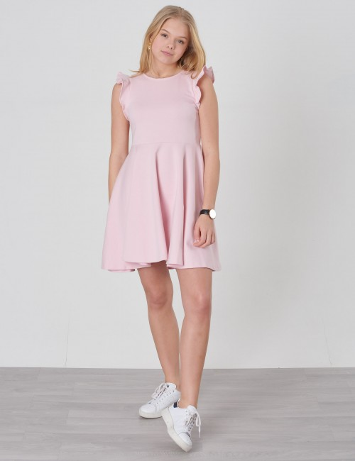 Ralph Lauren barnkläder - RUFFLE DRESS-DRESSES-KNIT