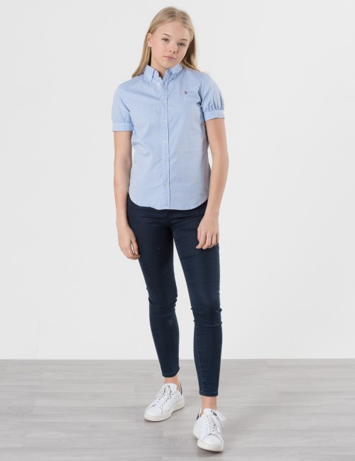 Om Ralph Lauren barnkläder - SOLID OXFORD SHIRT
