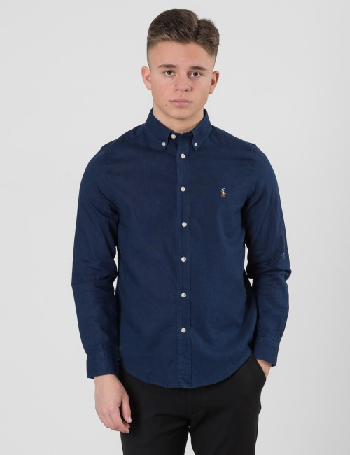 Om Ralph Lauren barnkläder - LINEN BUTTON DOWN SHIRT