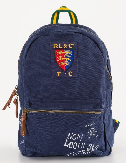 Om Ralph Lauren barnkläder - NAVY POLO BACKPACK