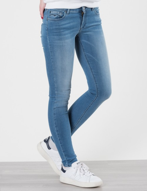 Replay HYPERFLEX DENIM PANTS Blå Jeans till Tjej