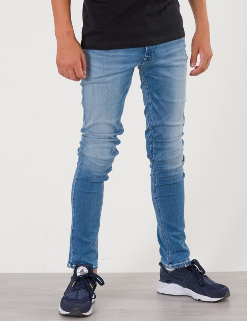 Replay Hyperflex Slim Fit Jeans Blå Jeans till Kille