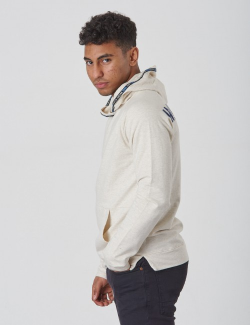 Scotch & Soda barnkläder - Lightweight twisted hood with back artwork