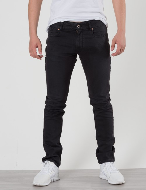 Scotch Shrunk SUPER SKINNY 5-POCKET Svart Jeans till Kille