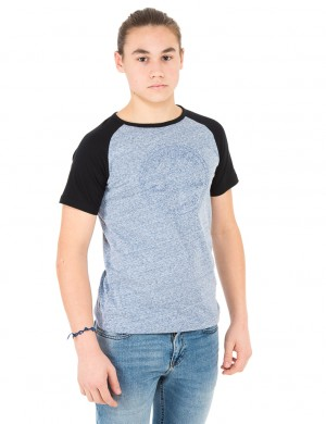 Chuck Patch Raglan Tee