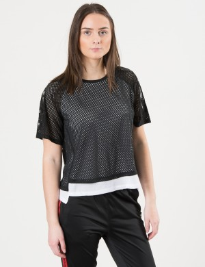 Double Layer Mesh Tee