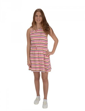 SC. MULTI STRIPE SUMMER DRESS