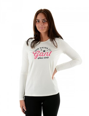 O. COTTON ELASTANE T-SHIRT LS