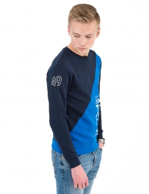 O. GANT SAILING C-NECK SWEAT