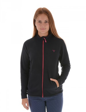 O. FULL ZIP FLEECE CARDIGAN
