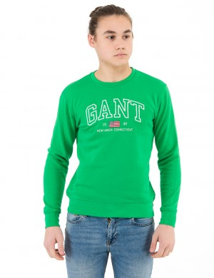 O. GANT NEW HAVEN C-NECK SWEAT