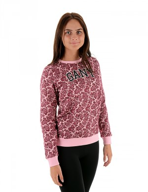 O.PAISLEY C-NECK SWEAT