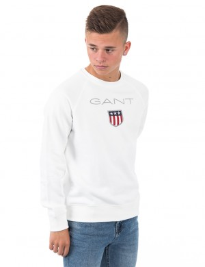 GANT SHIELD LOGO SWEAT C-NECK