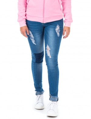 Jegging Damage Blue