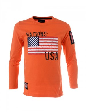 SS15 Nations LS Tee