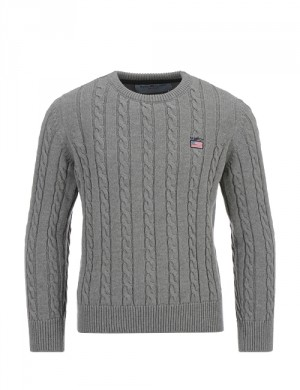 JAYDEN LS CABLE KNIT