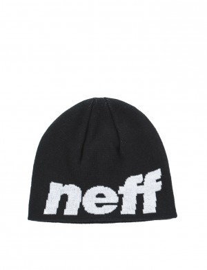 Neff Youth happy beanie Svart Mössor till Unisex