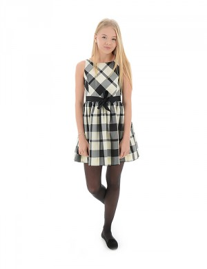 Ralph Lauren PLAID CHECK DRESS Multi Klänningar/kjolar till Tjej