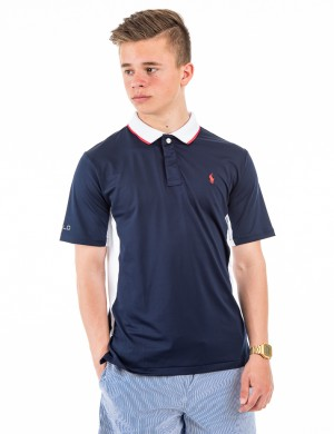 PIECED POLO