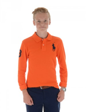 LONG SLEEVE POLO PRINT