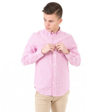 BUTTON DOWN POCKET SHIRT