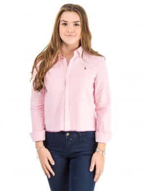 SOLID OXFORD TOPS SHIRT