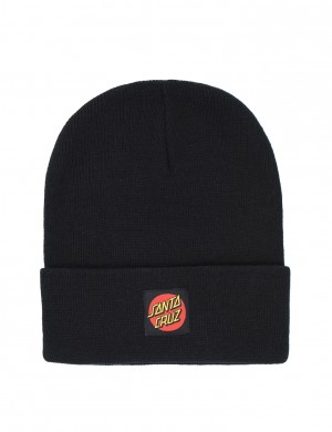 Classic Label Dot Beanie