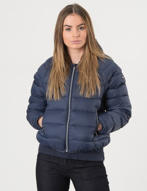 THKG LT DOWN CROP JACKET