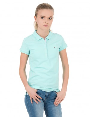 AME GIRLS BASIC  POLO S/S