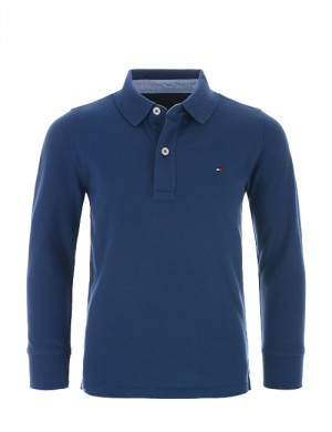 TOMMY FASHION POLO L/S