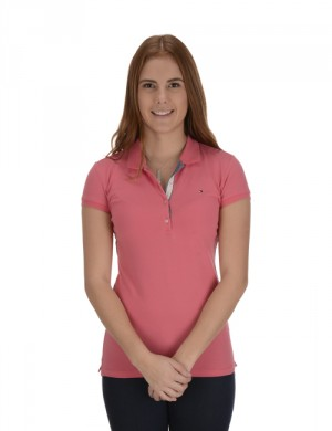 GIRLS FITTED POLO S/S
