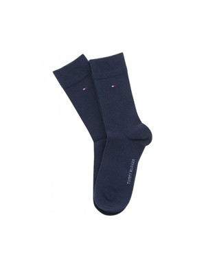 Tommy Hilfiger TH CHILDREN SOCK TH BASIC 2P Blå Strumpor/Sockor till Kille
