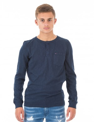 AME GMD POCKET HENLEY L/S
