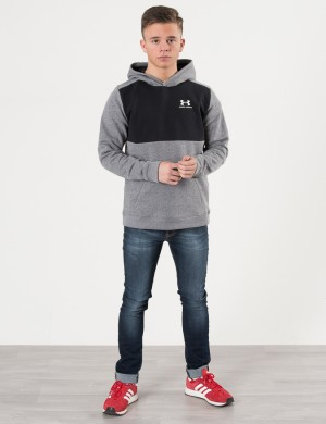COTTON FLEECE HOODY