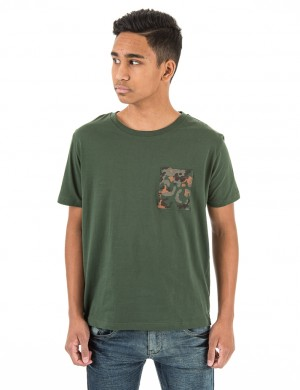 FLECKTARN POCKET TEE