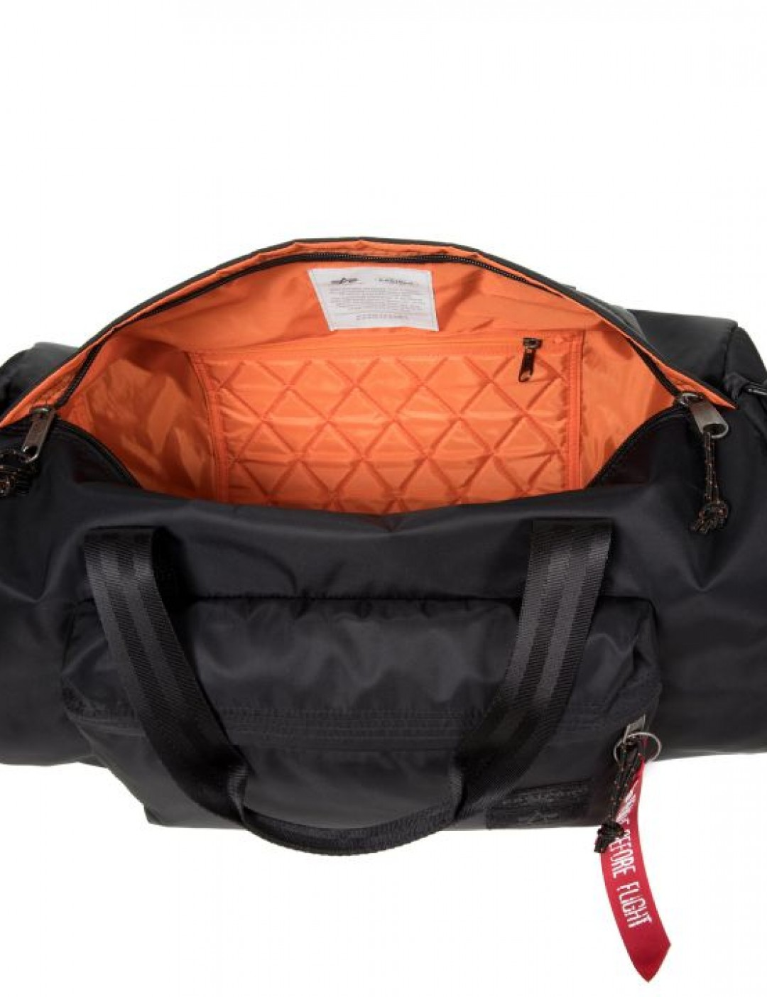 Best price on the market at italist   Alpha Industries Alpha Industries Calum Black Alpha Bag